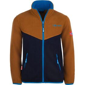 TROLLKIDS Oppdal XT Jacket Kids bronze/navy